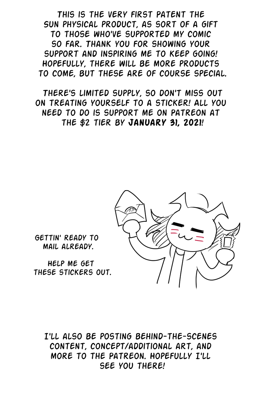 Image from episode Holidays 2020 Bonus Comic